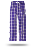 Custom Sweats : DT2800 District Juniors Flannel Plaid Pant
