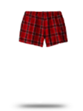 Custom Juniors : DT2801 District Juniors Flannel Plaid Boxer