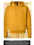 Custom Hoodie Sweatshirt : P170 Hanes EcoSmart Hooded Sweatshirt