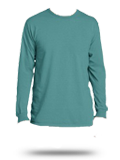 Custom Long Sleeve T-Shirts :PC099LS Port & Company Pigment-Dyed Long Sleeve Tee