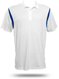M356 Harriton Men�s Back Blocked Micro-Pique Polo