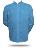 M500 Harriton Men's Long-Sleeve Twill Shirt with Stain-Release