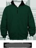 M740 Unisex Fleece Lined Nylon Jacket