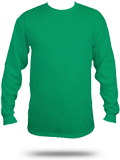 Custom Long Sleeve T-Shirts : PC61LS Port & Company Essential Long Sleeve