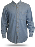 S600 Port Authority Long Sleeve Denim Shirt
