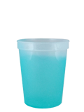 Custome Cups & Glassware : 16 oz Color Changing Smooth Stadium Cup
