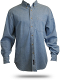 SP10 Port and Company Long Sleeve Value Denim