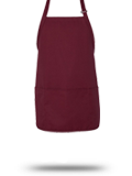 Custom Business Apparel : TT32 Chef Designs Short Premium Bib Apron