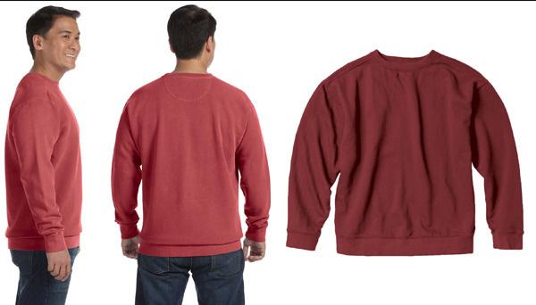 Cc1566 Comfort Colors Crewneck Sweatshirt