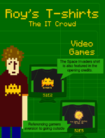 Roy's T-Shirts from IT Crowd
