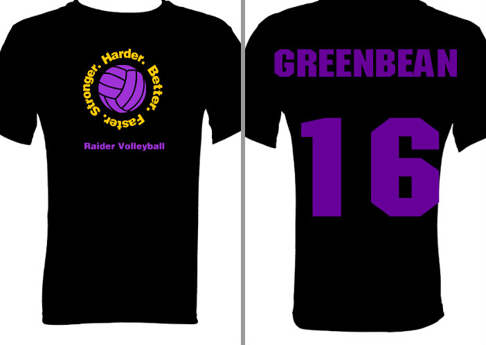25 volleyball t shirt designs for fall 2011