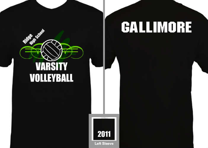 Completely new 25 Volleyball T-shirt Designs for Fall 2011 |The BlueCotton Blog FN98